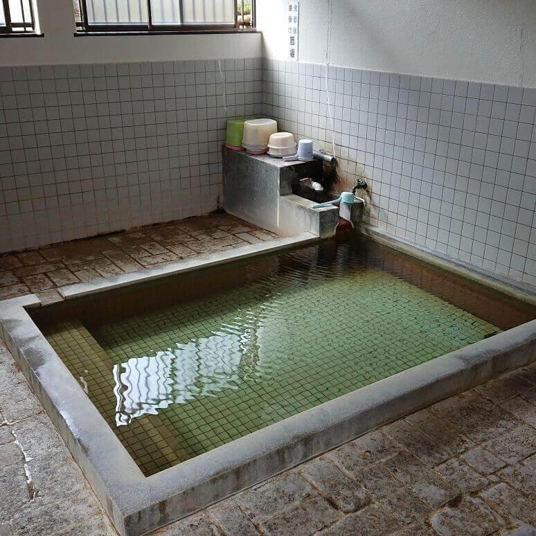 地獄原温泉のお風呂