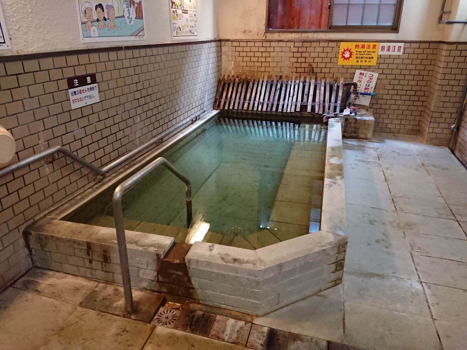渋の湯のお風呂