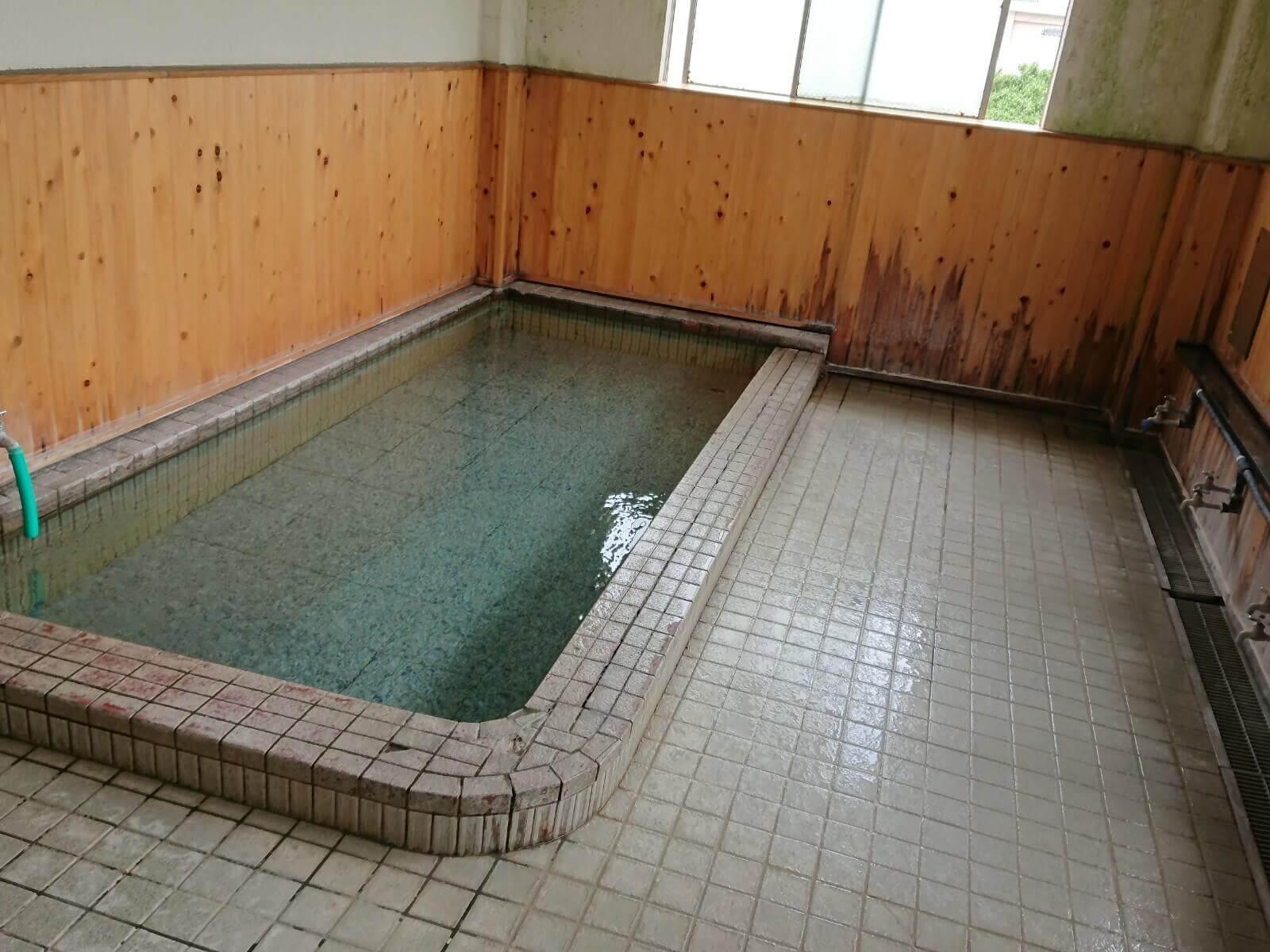 砂原温泉のお風呂