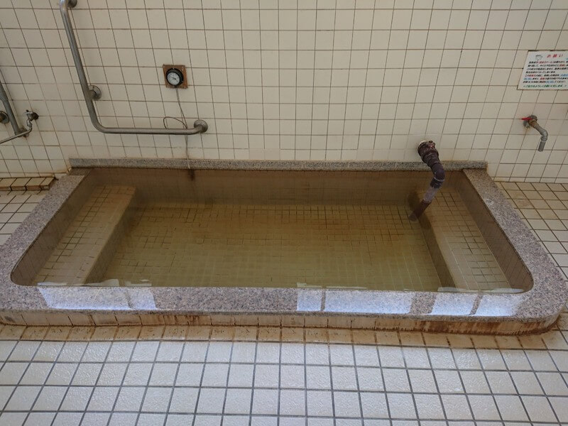 餅ヶ浜温泉のお風呂