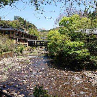 黒川温泉「新明館」!入湯手形で日帰り入浴ができる立ち寄り湯