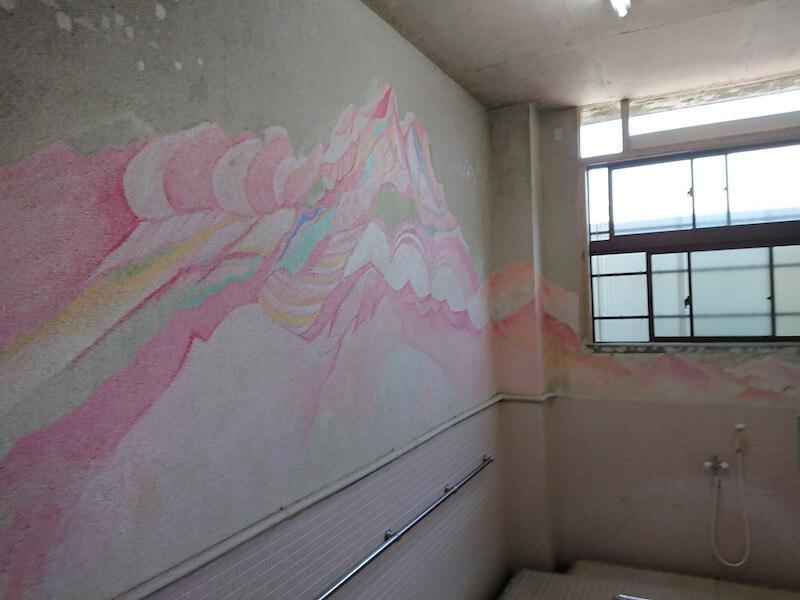 末広温泉の壁画