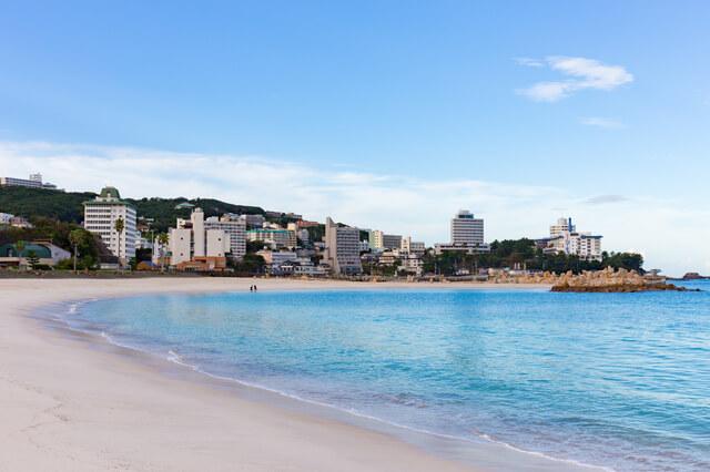 日本三古泉の和歌山県「白浜温泉」