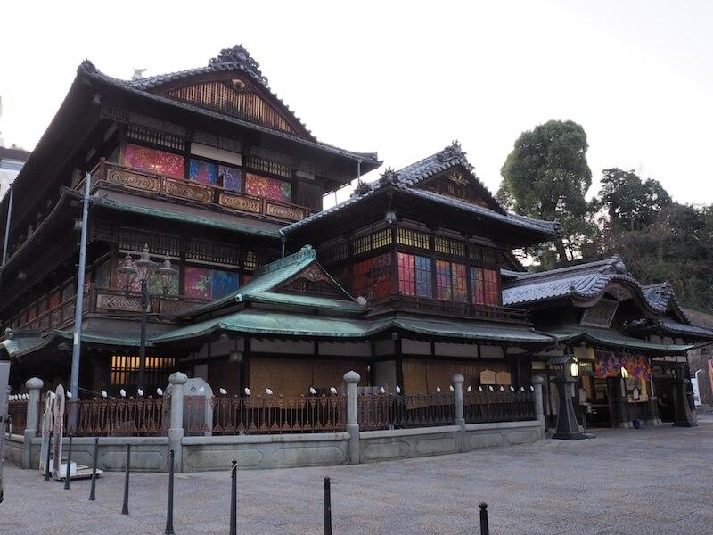 日本三古泉の愛媛県「道後温泉」