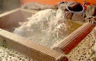 平山温泉「湯処 風月」源泉かけ流しの全室貸切家族風呂!