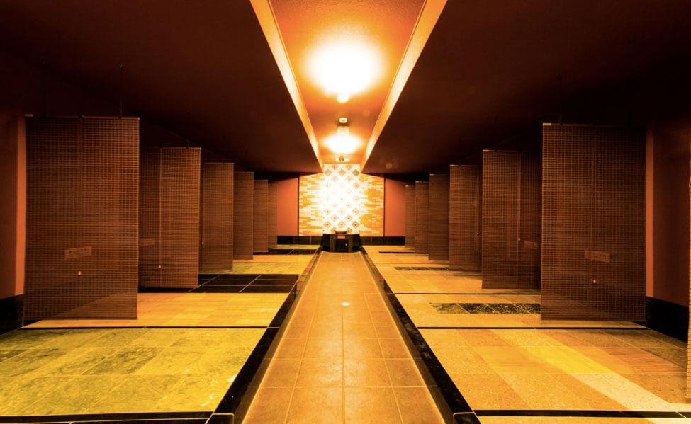 岩盤浴 健康房