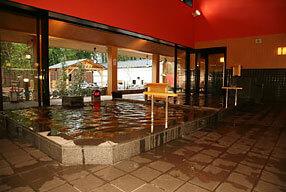 東香里湯元水春の内風呂のぬる湯
