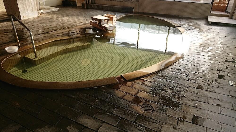 春陽館の「茂吉の湯」の内湯
