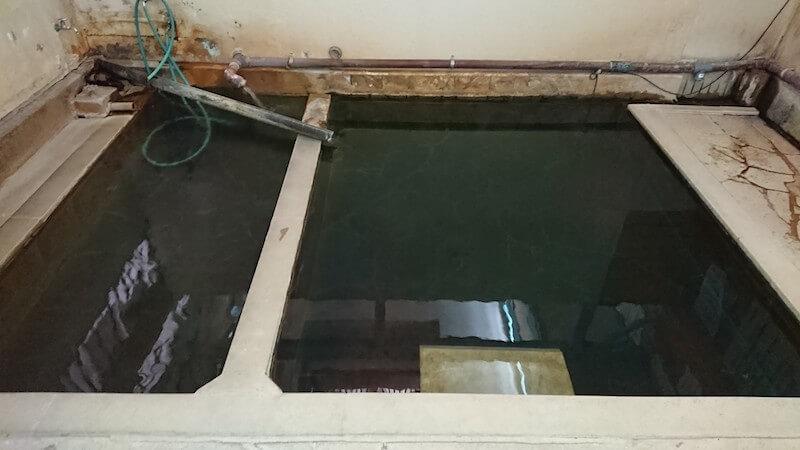 黒川温泉 地蔵湯のお風呂